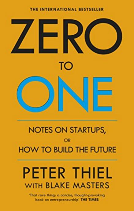 Libro Zero to One